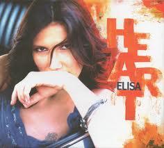 La cover di Heart, a oggi ultimo disco di Elisa