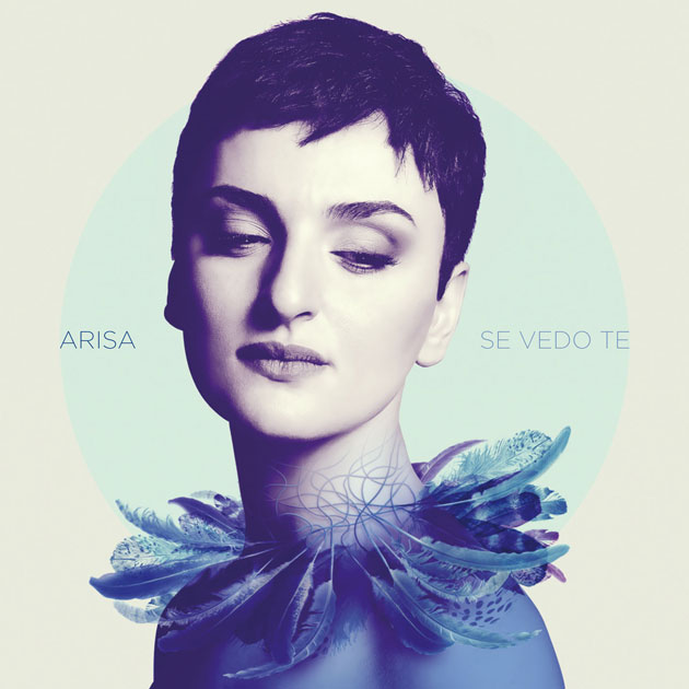 La cover dell'album di Arisa: Se vedo te