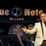Matteo Brancaleoni, il crooner del Blue Note