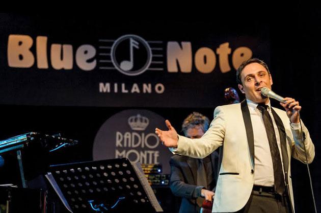 Matteo Brancaleoni in una sua precedente serata al Blue Note