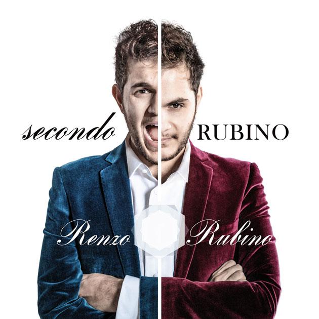 La cover del nuovo album di Renzo Rubino, Secondo Rubino
