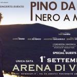 Un notte nero a metà per Pino Daniele