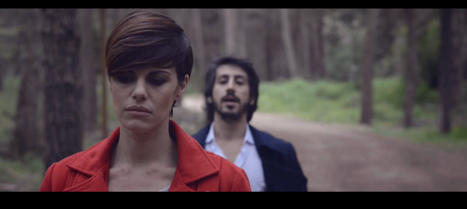 """Bianca Guaccero e David Donatiello nel video """"Adesso ormai"""""""