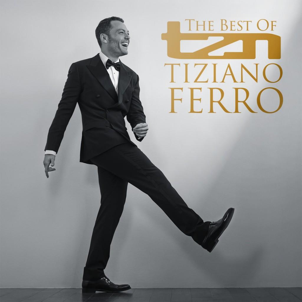 La cover di TZN - The best of Tiziano Ferro
