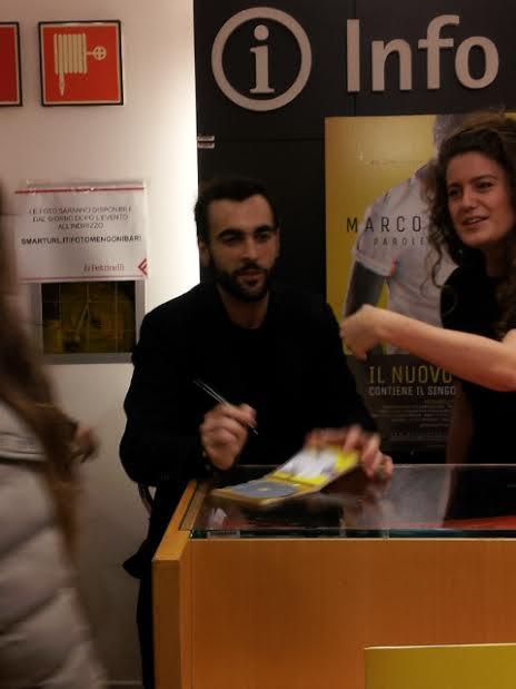 Marco Mengoni con la sua manager Marta Donà