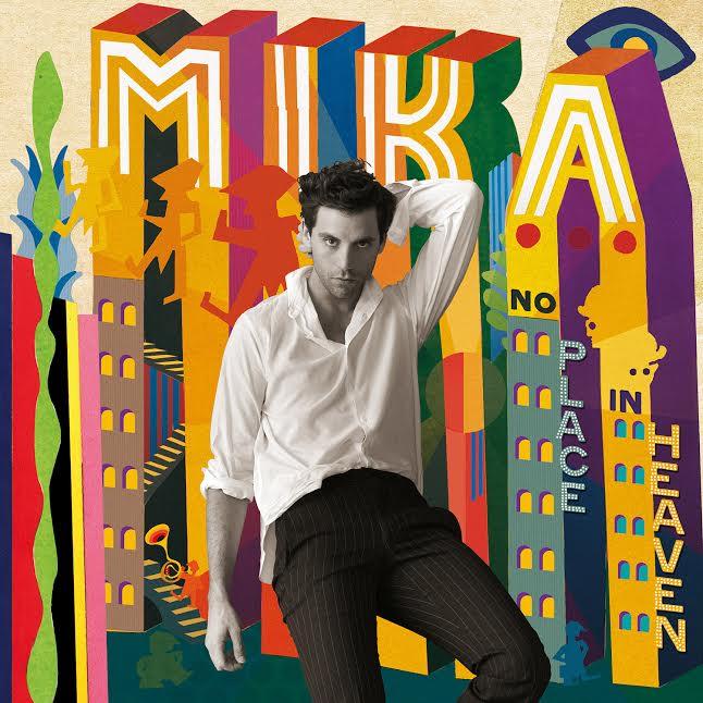 """La cove di """"no heavan"""" di Mika"""
