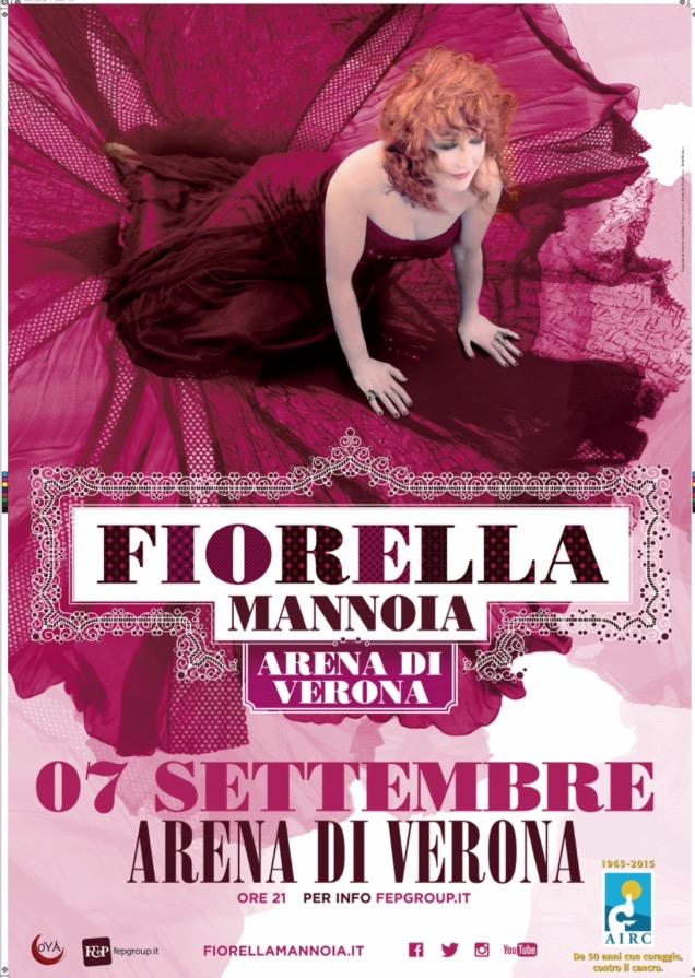 Fiorella Mannoia a Verona