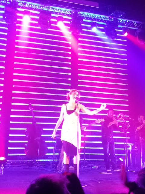 Irene Grandi nel suo tour teatrale