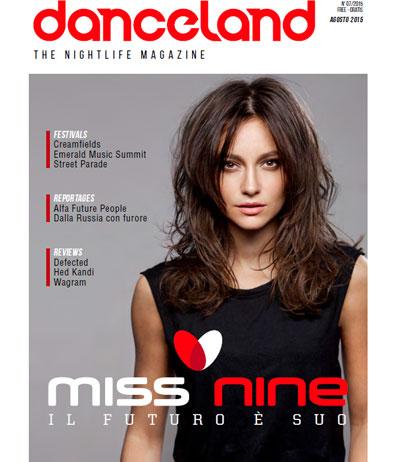 Danceland, la cover di agosto