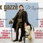 Max Gazzè e l'irresistibile Maximilian in Tour