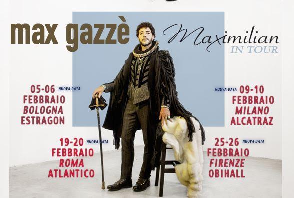 Max Gazzé in tour