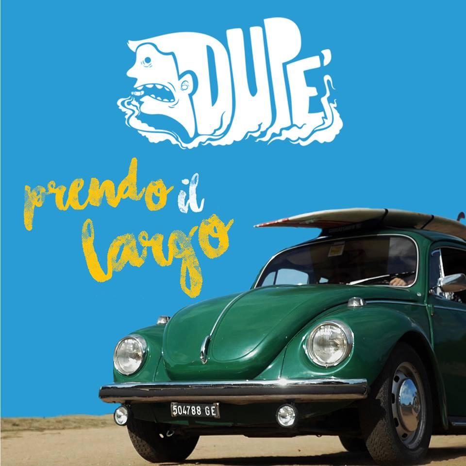 """La cover di """"Prendo i largo"""" dei Dupé"""