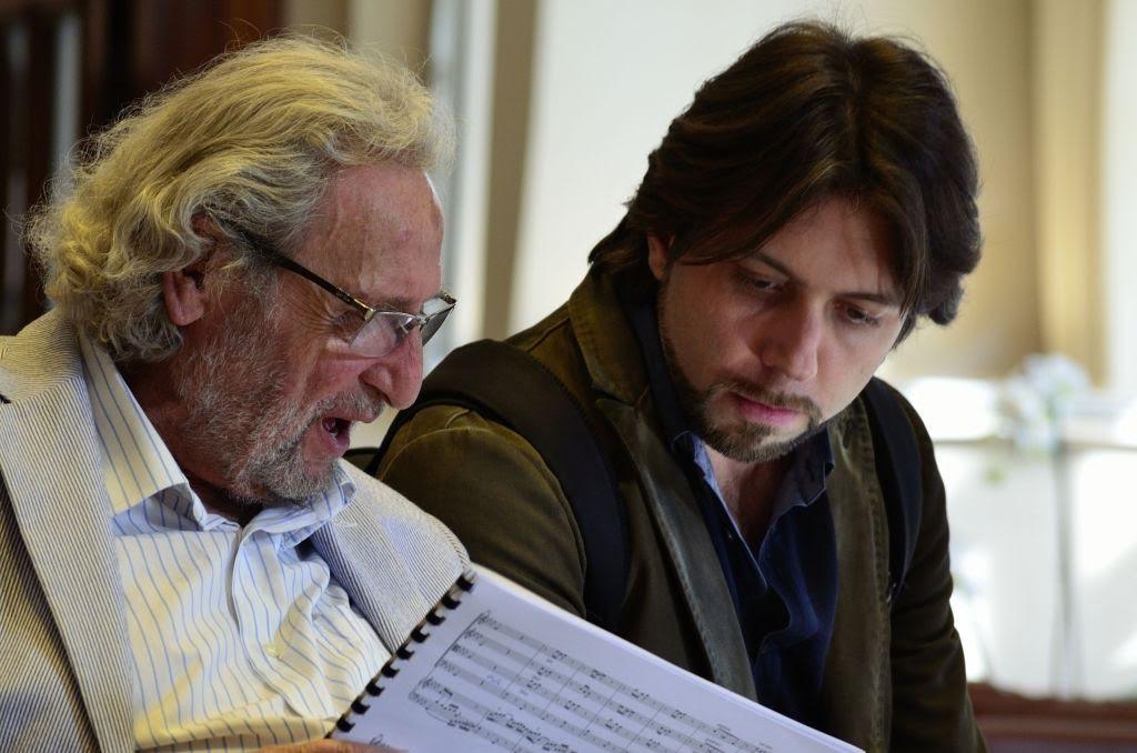 Alberto Pizzo e Luis Bacalov