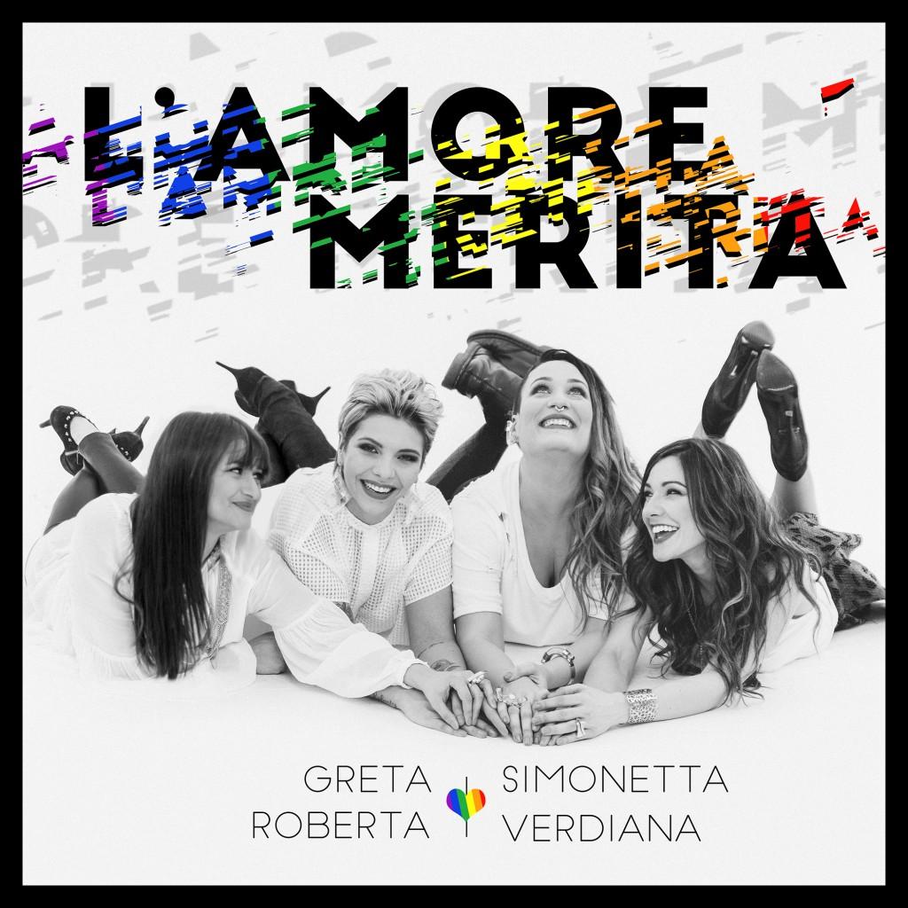 """La cover de """"L'amore merita"""""""