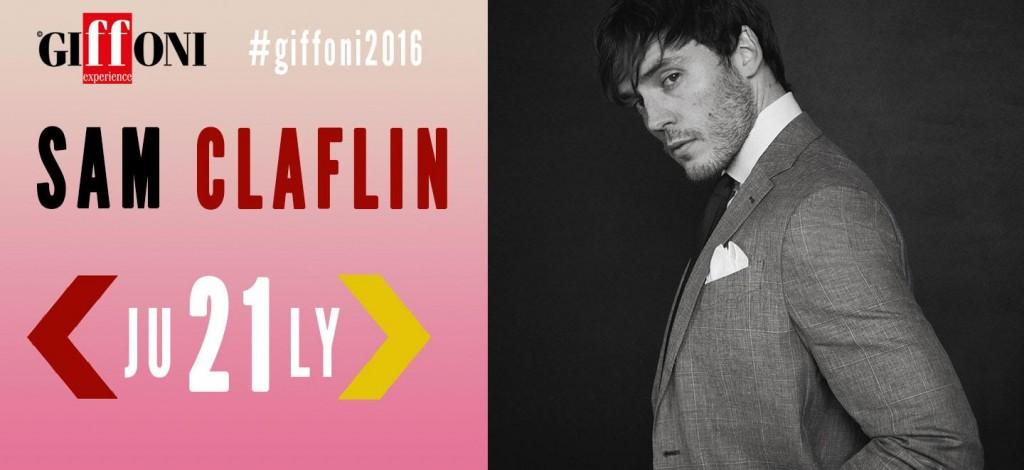 Sam Clafin al Giffoni Film Festival