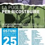 Puglia per ricostruire: a Ostuni il jazz suona per il centro Italia terremotato