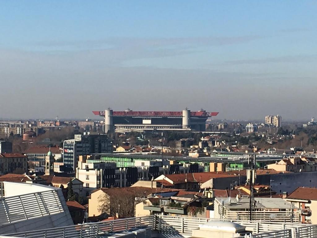 Milano vista da casa Fedez