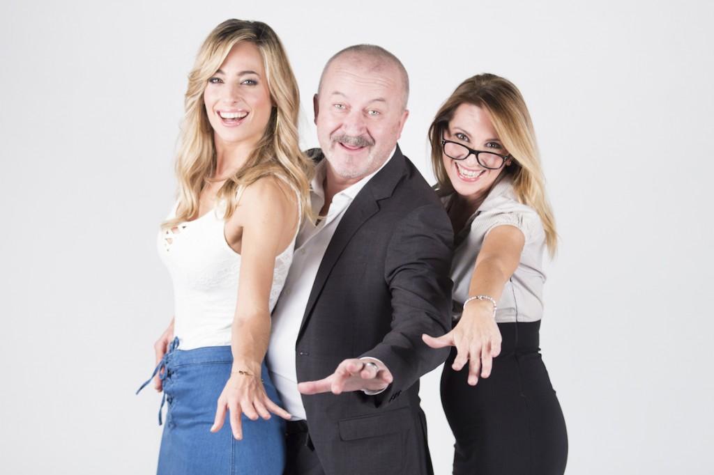 Jessica Polsky, Stefano Chiodaroli e Rossana Carretto