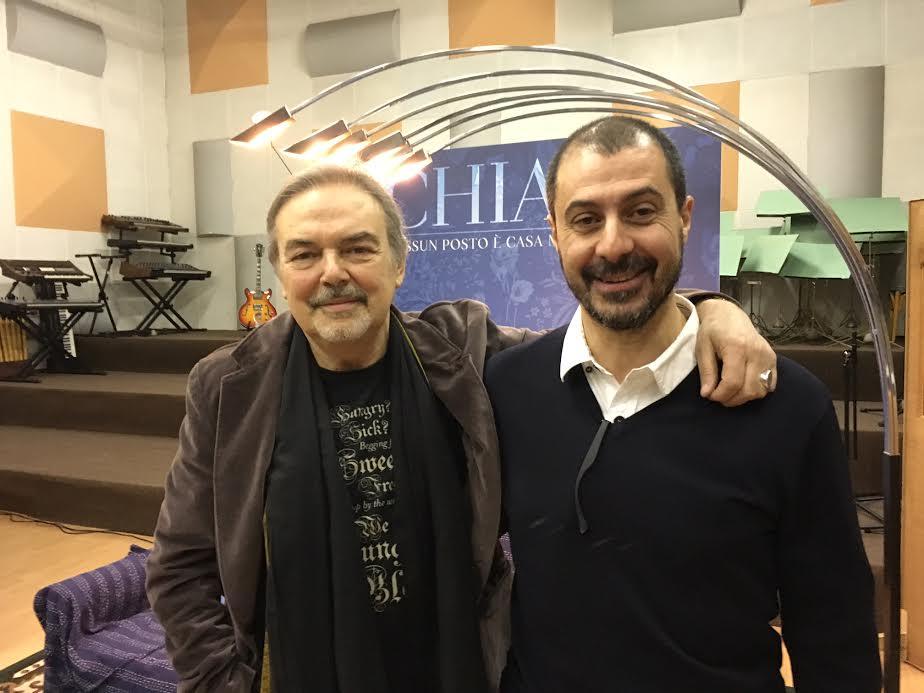 Mauro Pagani..ed io