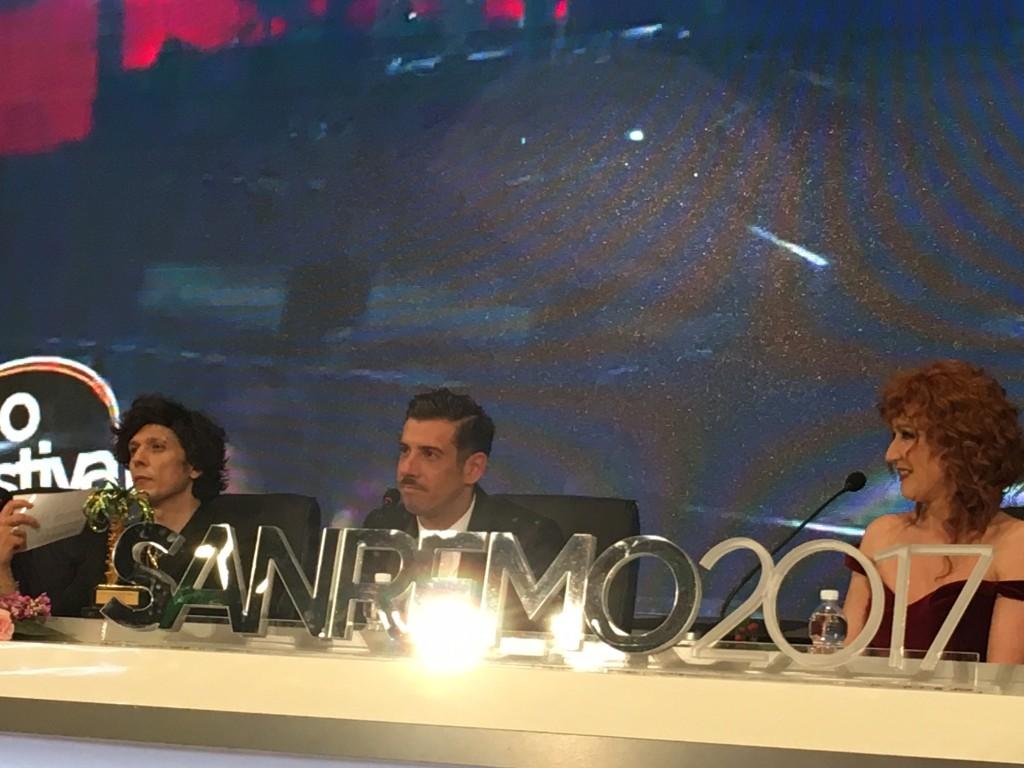 I finalisti di Sanremo 2017