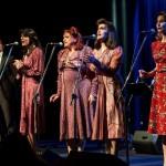 Le Sorelle Marinetti al Blue Note con la Famiglia Canterina