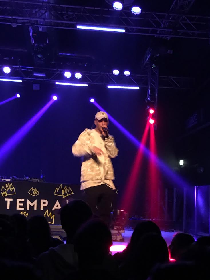 Tinie Tempah in concerto