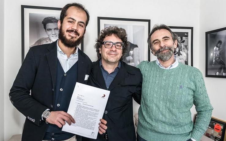 Luigi Vignando, Remo Anzovino e Luciano Rebeggiani
