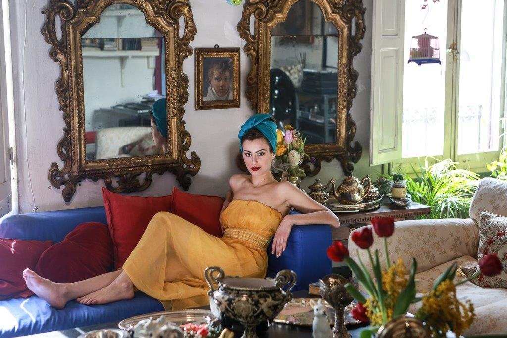 Carmen Alessandrello (foto di Nino Saetti)
