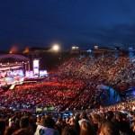Wind Music Awards, l'Arena si accende (nonostante la pioggia)