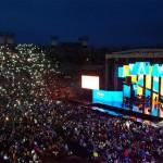 Wind Music Award 2017, l'Arena in piedi per Renga, Antonacci e la sorpresa Thomas
