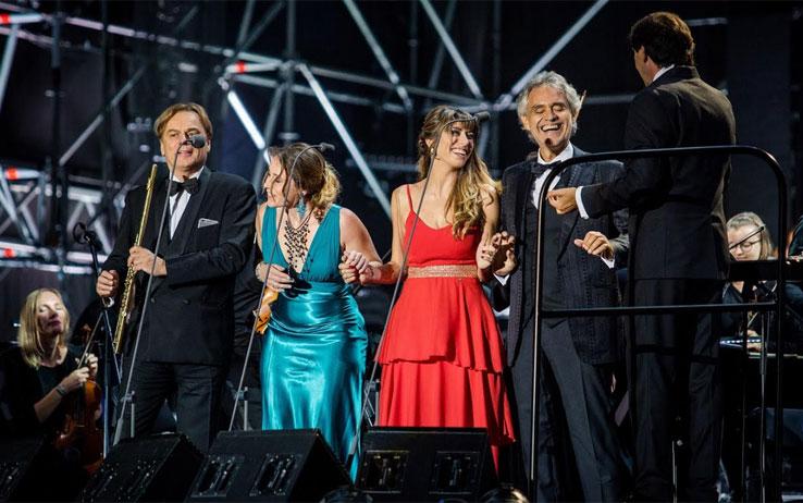 Andrea Bocelli in Polonia