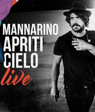 La cover di Apriti Cielo Live di Alessandro Mannarino