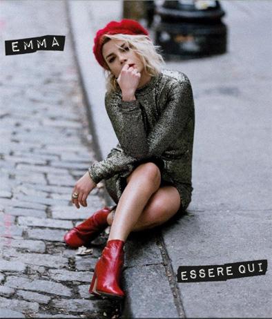 """Emma Marrone sulla cover di """"Essere qui"""""""