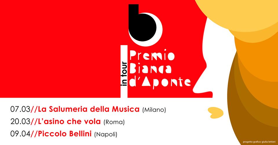 Premio Bianca D'Aponte, si riparte