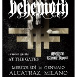 Behemoth, At The gates, Wolves in the throne room: la musica estrema in tutti i suoi aspetti