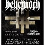Behemoth, At The gates, Wolves in the throne room: la musica estrema in tutti i suoi aspetti