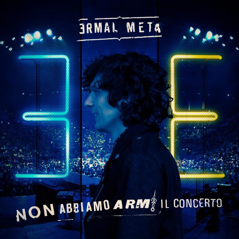 La cover del nuovo lavoro di Ermal Meta