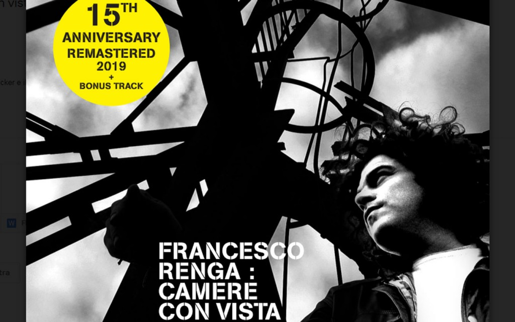 La cover di Camere con Vista di Francesco Renga